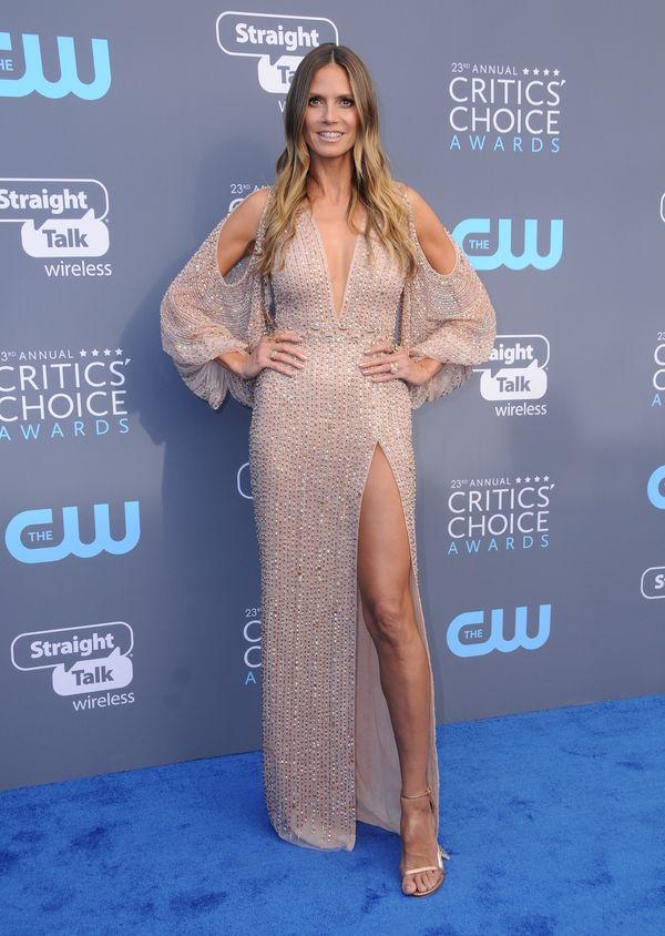 Heidi Klum zapomniała już, jak wygląda farbowanie włosów? Jej kolor...
