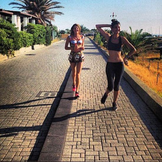 Jaki strój na jogging wybrała Anna Dello Russo?