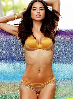 Adriana Lima w marcowym katalogu Victoria's Secret