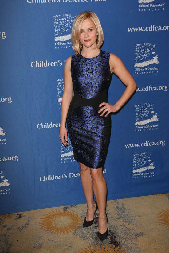 Jennifer Garner i Reese Witherspoon na swiątecznej gali