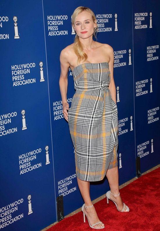 Diane Kruger w sukience Carven (FOTO)