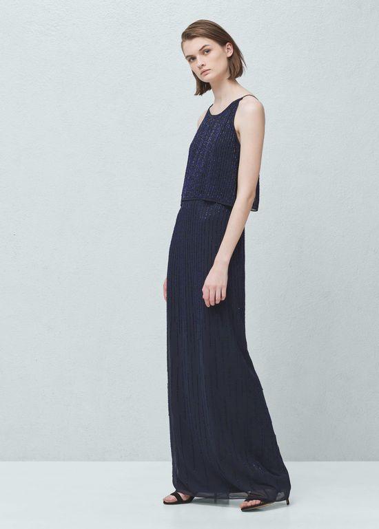 Wyprzedaż w Mango - 10 długich sukienek na lato 2016