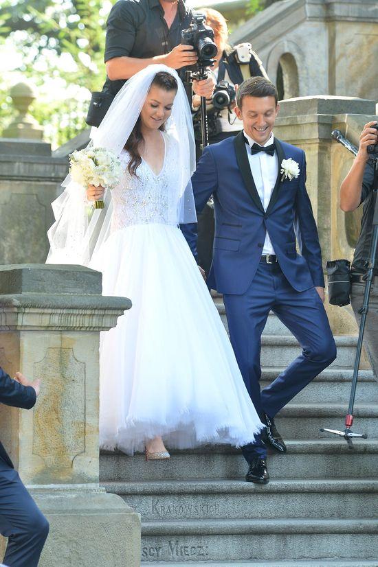 Wow! Zobaczcie suknię ślubną Agnieszki Radwańskiej (FOTO)