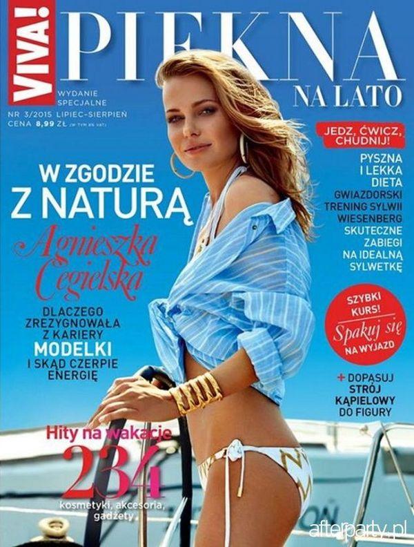 Agnieszka Cegielska - jak utrzymuje szczupłą figurę? (FOTO)