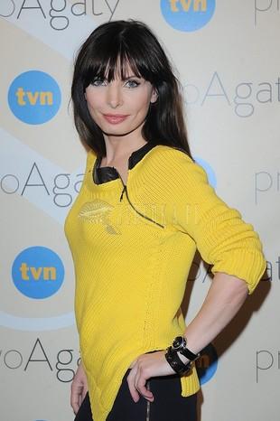 Agnieszka Dygant stawia na mocny kolor (FOTO)