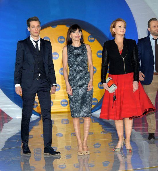 Gwiazdy i celebrytki na prezentacji wiosennej ramówki TVN