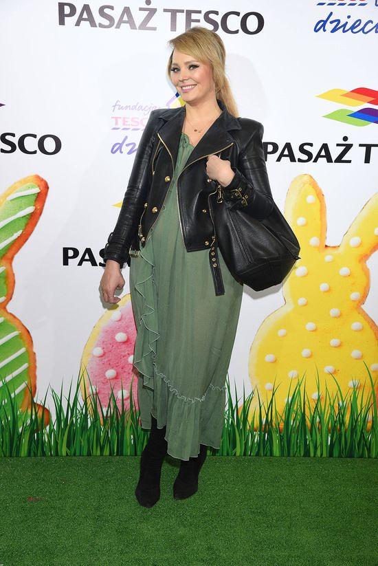 Agnieszcze Jastrzębskiej skończyły się ubrania w szafie? (FOTO)