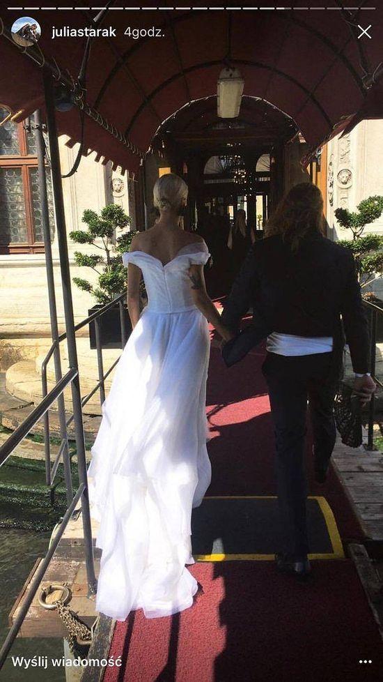 Agnieszka Szulim jest już poślubie! Miła aż dwie suknie (FOTO)