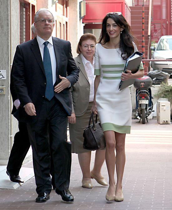 Amal Clooney - Najbardziej fascynująca osoba roku 2014...