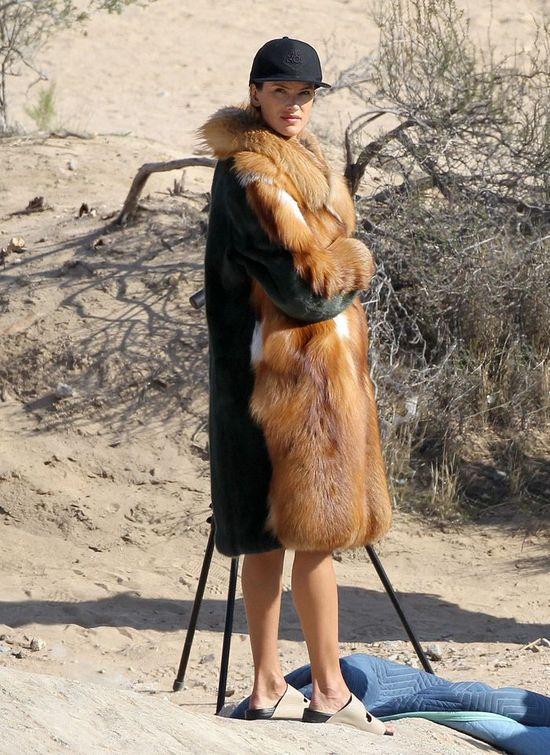 Drapieżna Alessandra Ambrosio podczas nowej sesji zdjęciowej