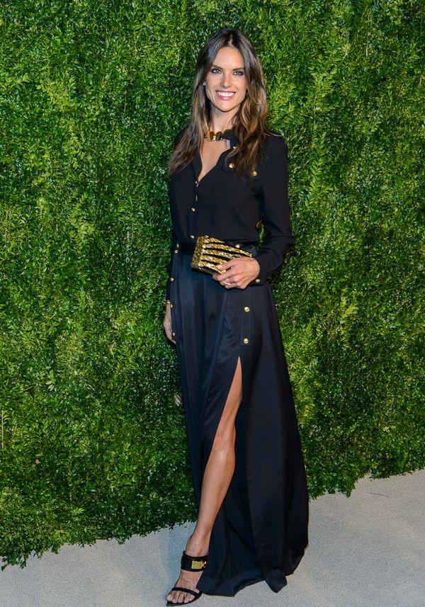 Modelki na gali CFDA/Vogue Fashion Fund Awards (FOTO)