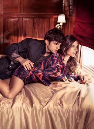Alessandra Ambrosio i Ashton Kutcher dla Colcci
