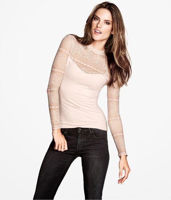 Alessandra Ambrosio po raz kolejny w kampanii H&M