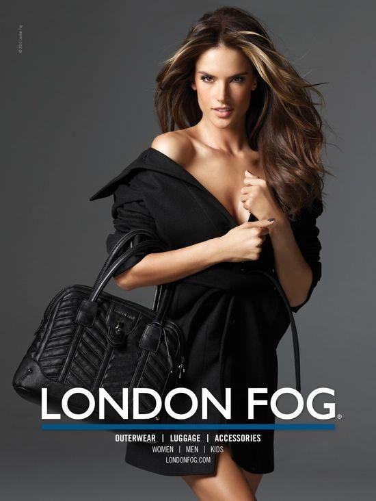 Alessandra Ambrosio z córką dla London Fog (FOTO)