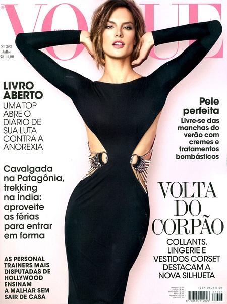 Alessandra Ambrosio na okładce Vogue Brasil