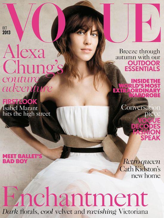 Alexa Chung na okładce Vogue'a (FOTO)