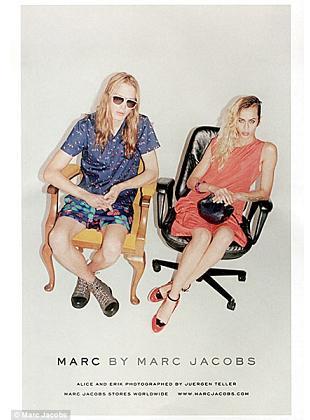 Alice Dellal w kampanii Marc by Marc Jacobs