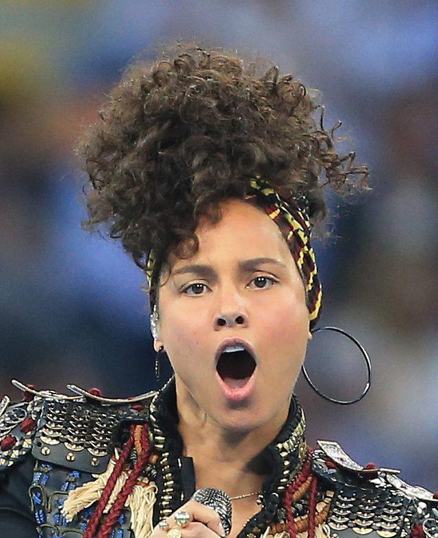 Alicia Keys obiecała, że nie będzie malować się nawet na koncerty