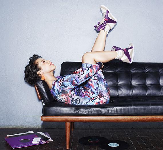 Alicia Keys w kampanii Reebok