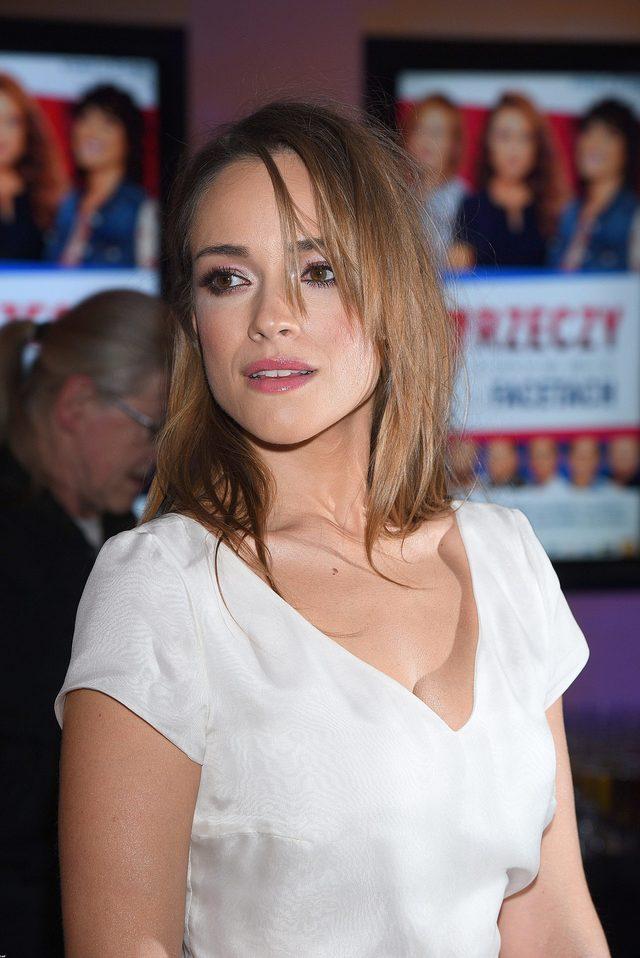 Alicja Bachleda-Curuś bez makijażu wyglada... pięknie!