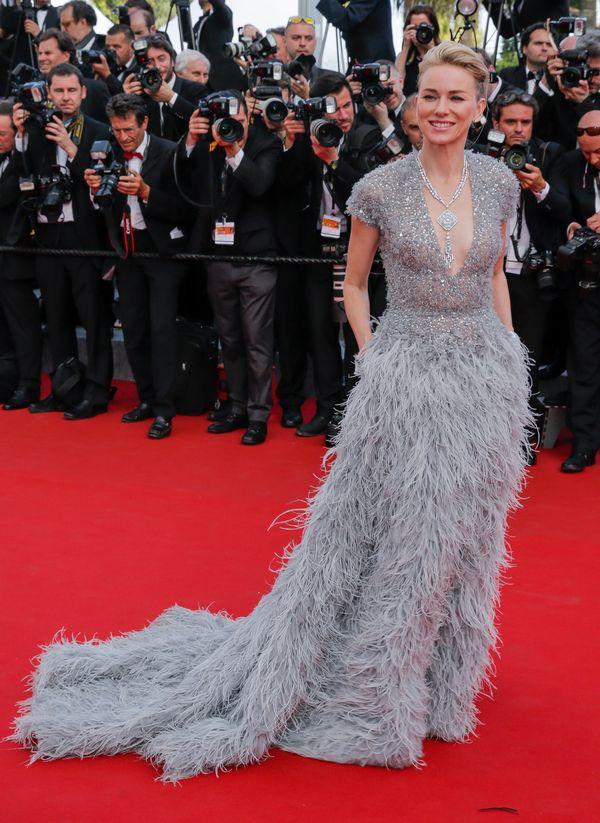 Zjawiskowa Naomi Watts na czerwonym dywanie w Cannes