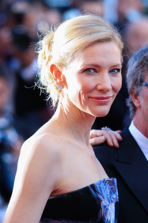 Zachwycająca Cate Blanchett na czerwonym dywanie w Cannes