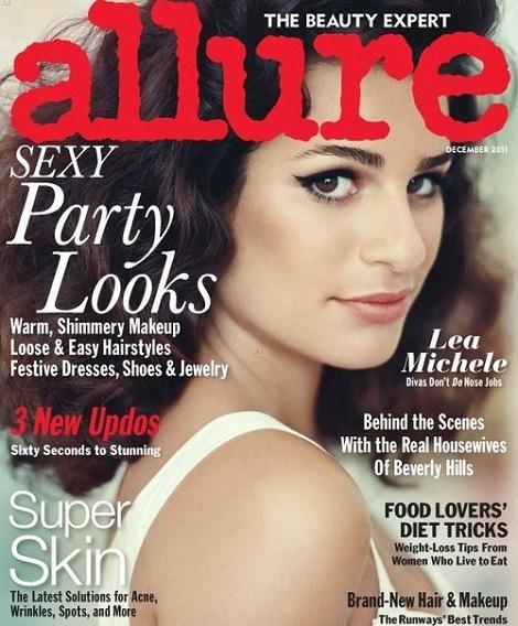 Lea Michele w styczniowym wydaniu magazynu Flare
