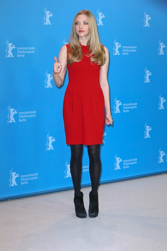 Amanda Seyfried: blondynka w czerwieni