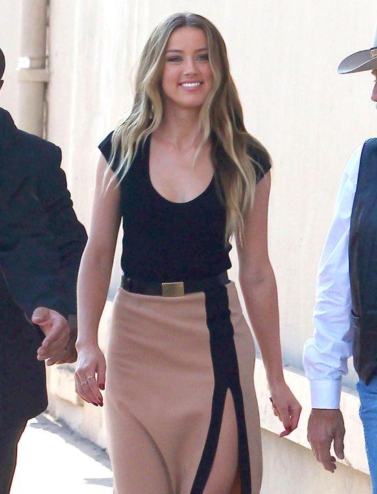 Amber Heard w sukience Michaela Korsa