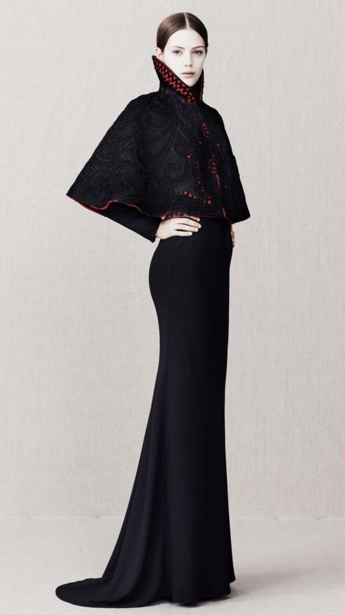 Alexander McQueen kolekcja pre fall 2013