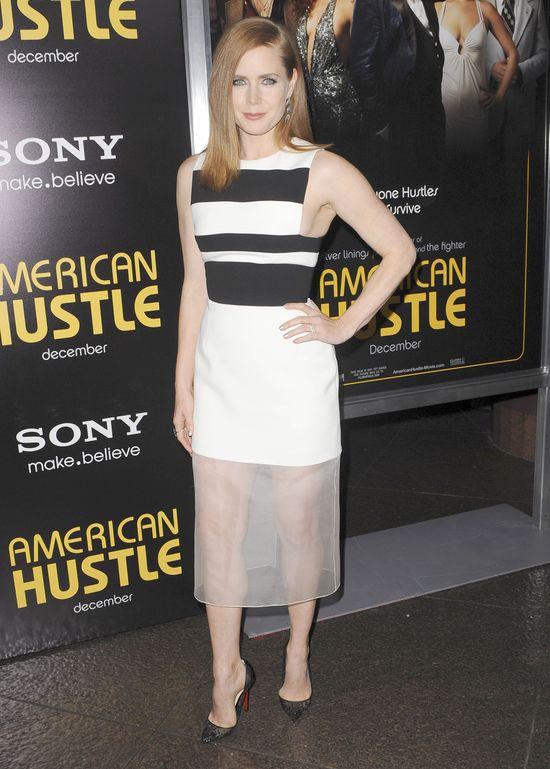 Amy Adams na premierze American Hustle (FOTO)