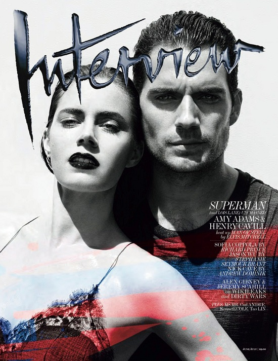 Amy Adams i Henry Cavill na okładce Interview
