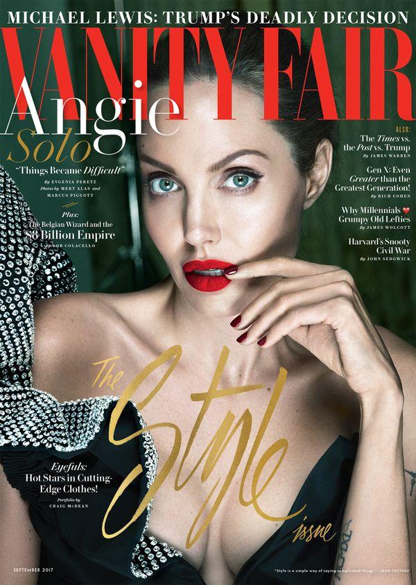 Angelina Jolie jest poważnie chora? W wywiadzie dla Vanity Fair opowiedziała o..