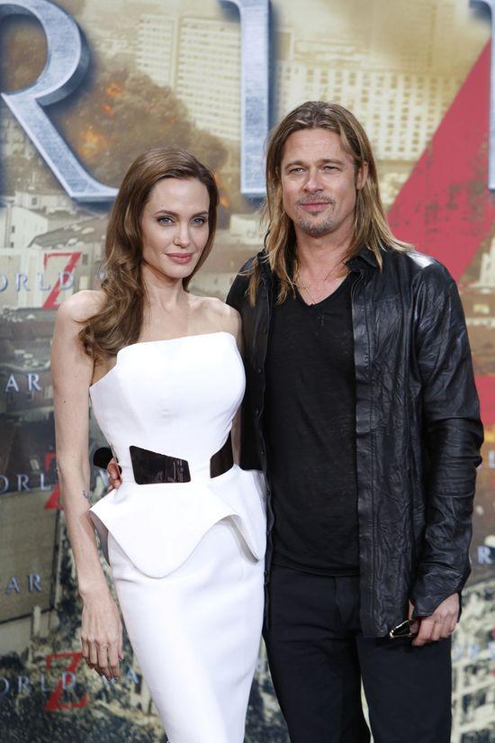 Mamy zdjęcia sukni ślubnej Angeliiny Jolie! (FOTO)