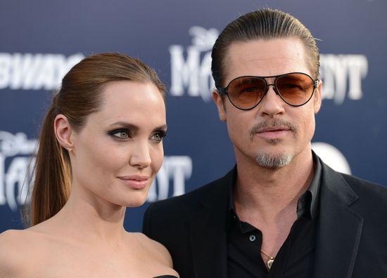 Angelina Jolie na premierę Czarownicy przyszła w skórze