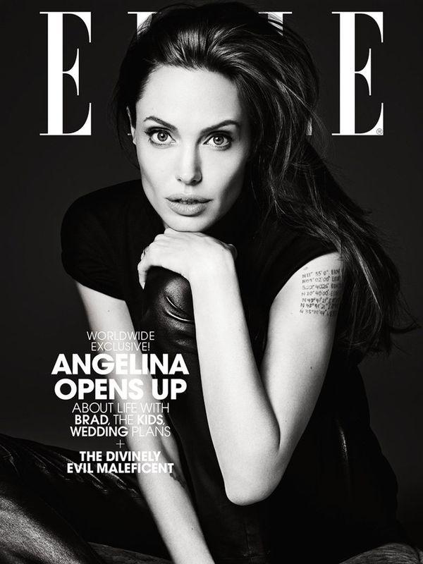 Angelina Jolie po 10 latach wraca na okładkę Elle US!