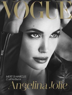 Angelina Jolie zachwyca na okładce Vogue Turkiye