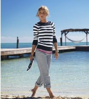 Capri - spodnie na lato