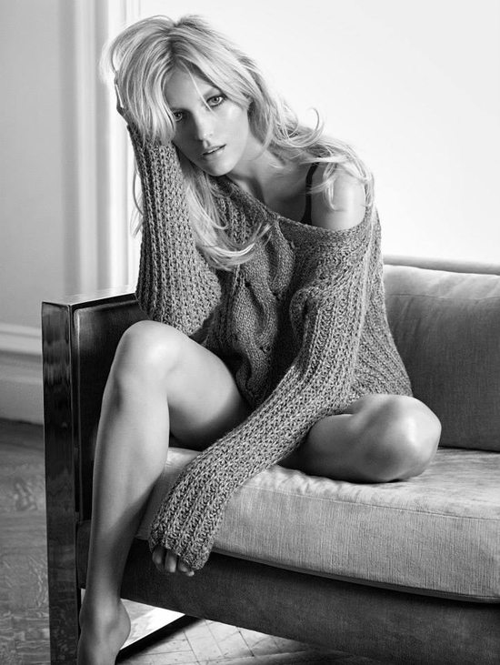 Anja Rubik w kampanii Nic+Zoe