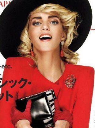 Anja Rubik na kolejnej okładce Vogue (FOTO)