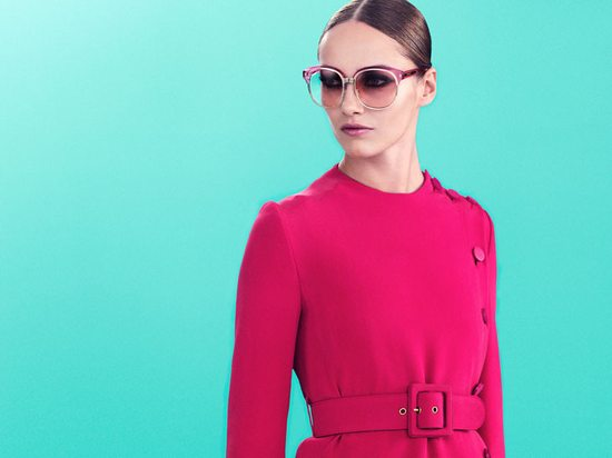 Anja Rubik w sesji dla domu mody Gucci