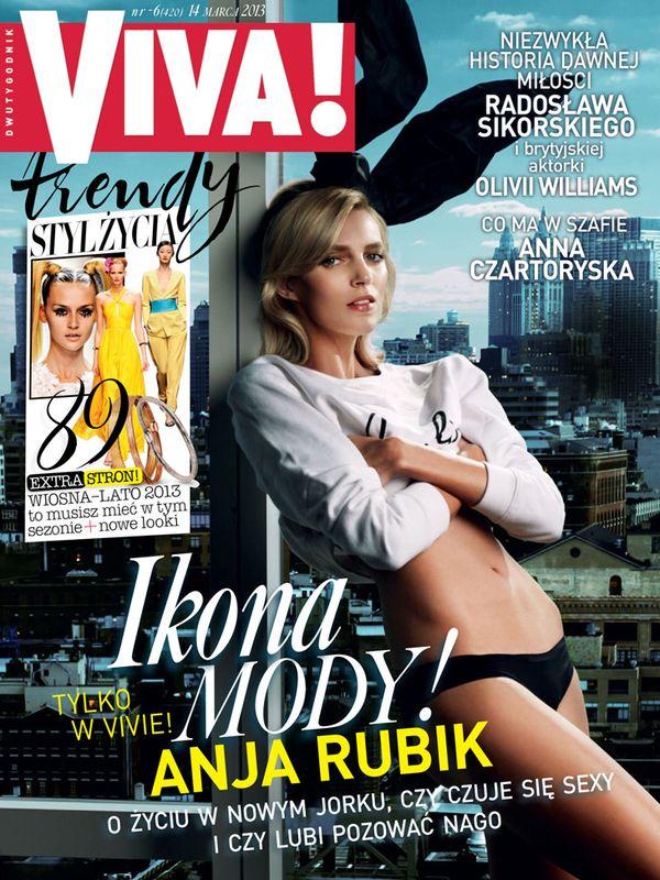 Anja Rubik jako seksowny króliczek (FOTO)