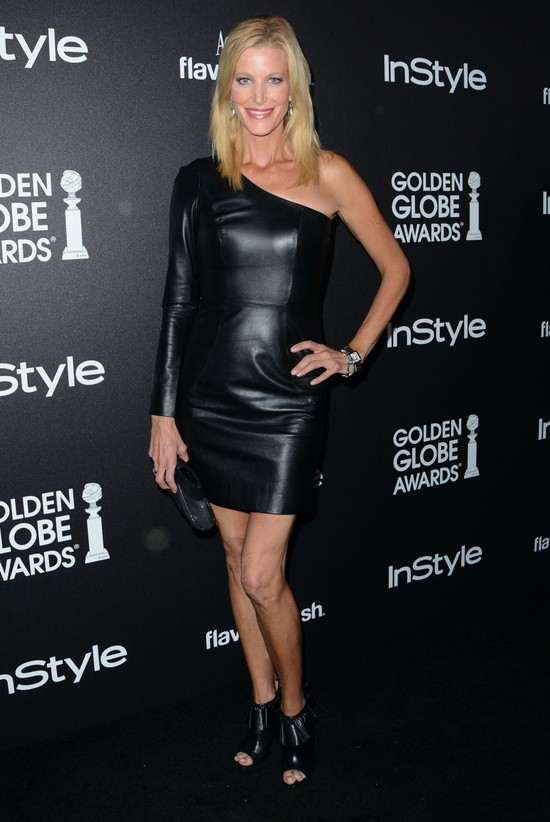 Czarne stylizacje gwiazd na gali Golden Globe Awards (FOTO)