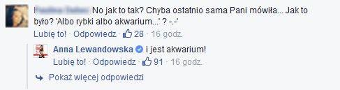 Na FB Anny Lewandowskiej znowu gorąco! Tym razem...