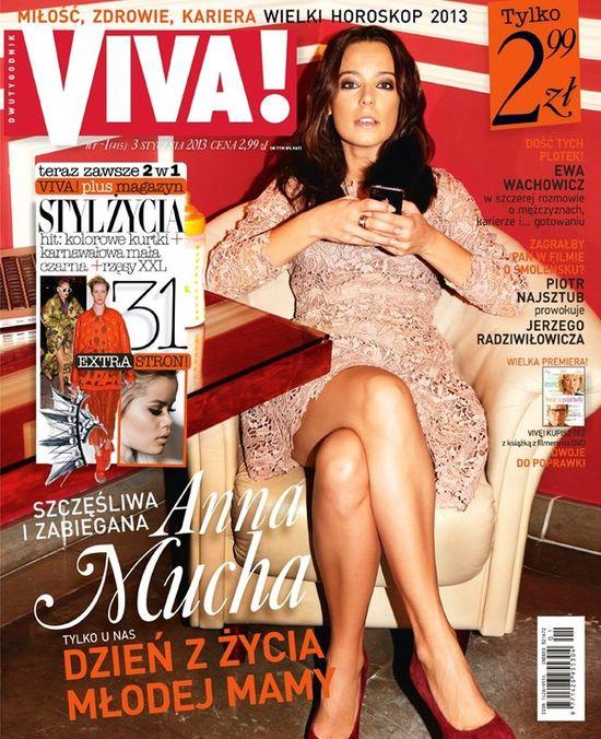 Anna Mucha w najnowszej Vivie
