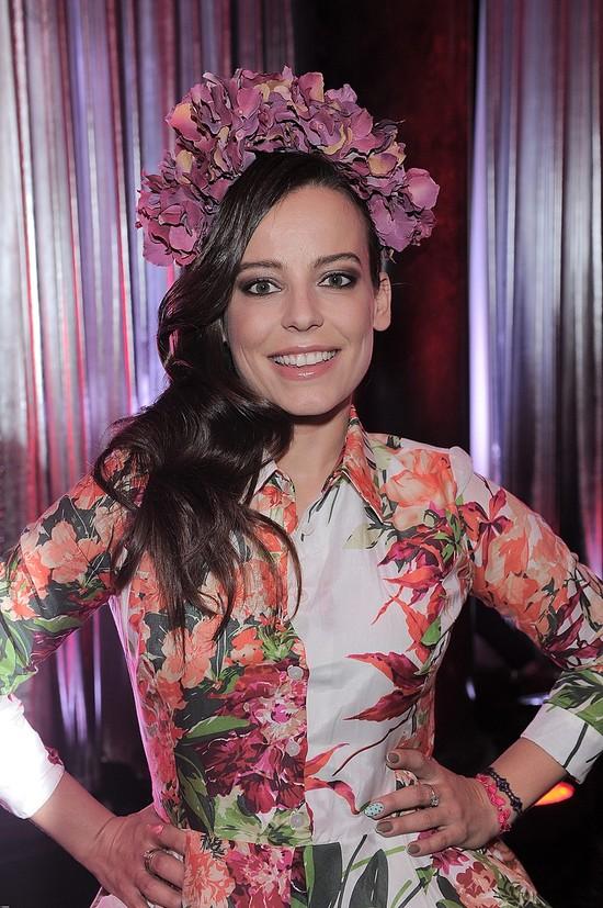 Ukwiecona Anna Mucha na gali Viva! Najpiękniejsi 2013 (FOTO)