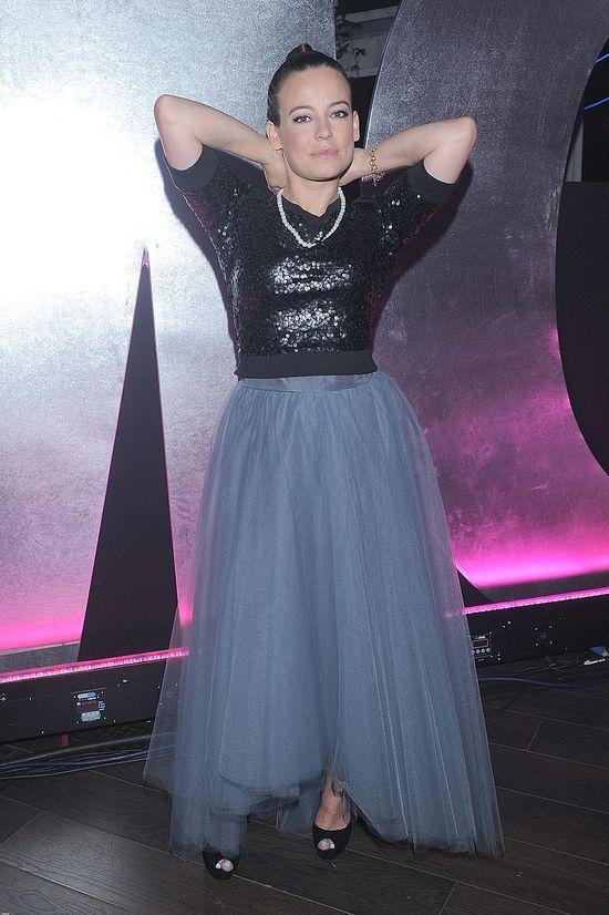 Anna Mucha też stawia na tiul (FOTO)