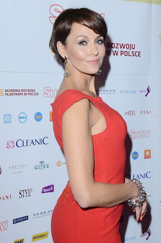 Anna Popek zachwyciła na gali Gwiazdy Dobroczynności 2012