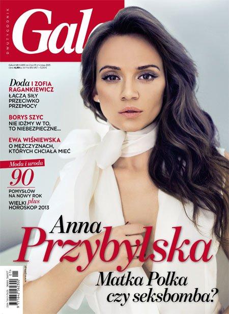 Dwie twarze Anny Przybylskiej