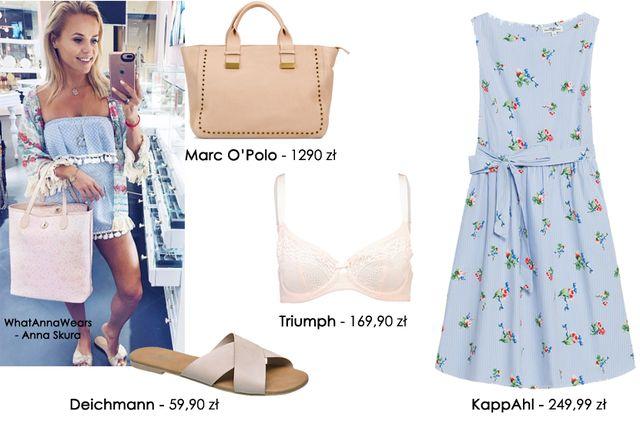 Inspiracje na lato - 2 stylizacje w stylu Anny Skury z What Anna Wears (FOTO)